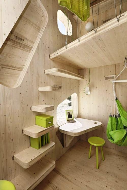 Організація простору в маленькому дачному будинку