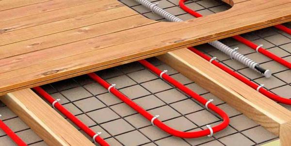 Встановлюємо теплу підлогу