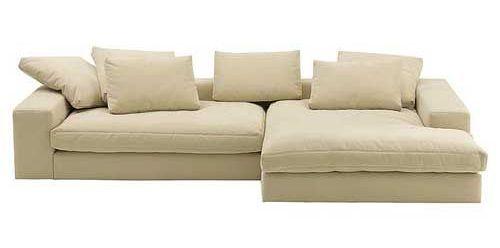 Угловой уютный диван Perina