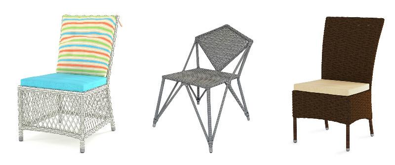 Как правильно выбирать стулья из ротанга
