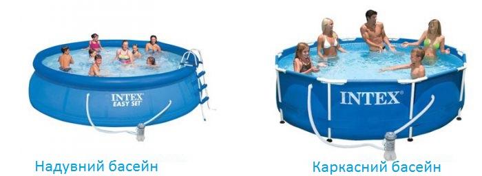 Який вибрати басейн для дачі надувний чи каркасний