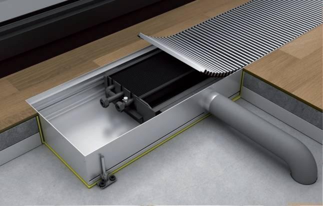 Внутрипольные конвекторы отопления