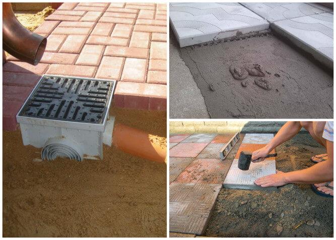 Как сделать бетонную плитку своими руками 63