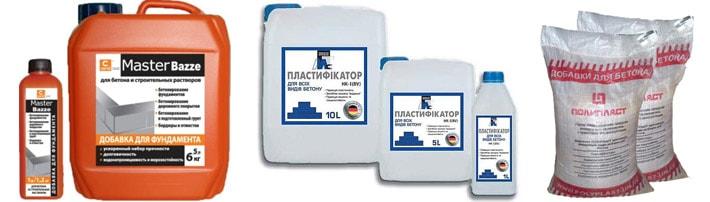 Основные характеристики пластификаторов для цемента