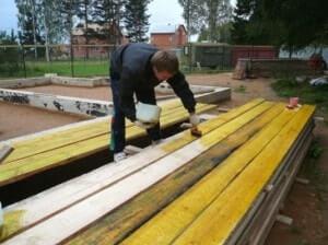 Засоби вогнебіозахисту деревини