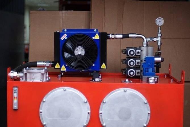 Воздушные теплообменники с гидравлическим приводом