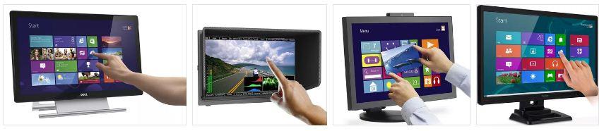 Мониторы с сенсорным экраном