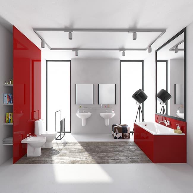 Інтер'єр ванної кімнати: лофт