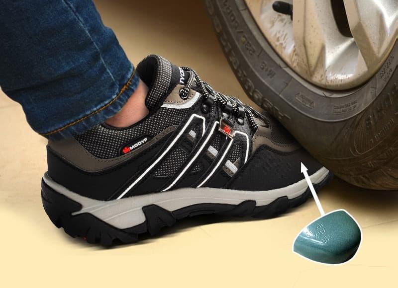 Шнурованная обувь с защитным носком