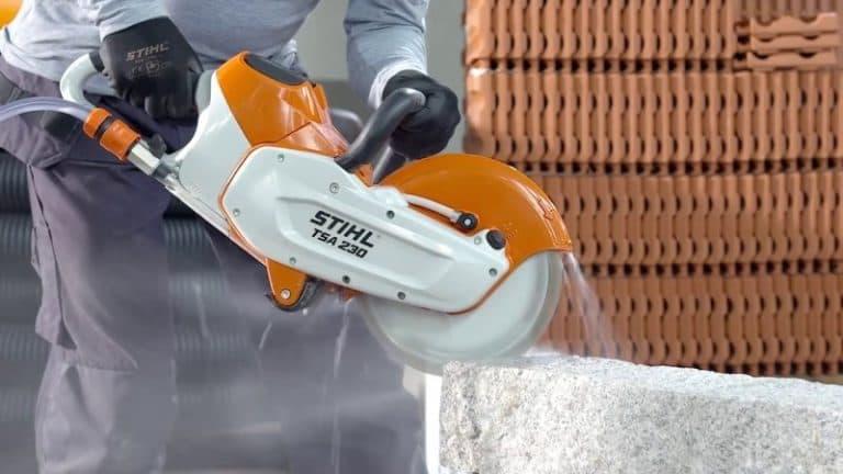 Использование бензореза в строительстве