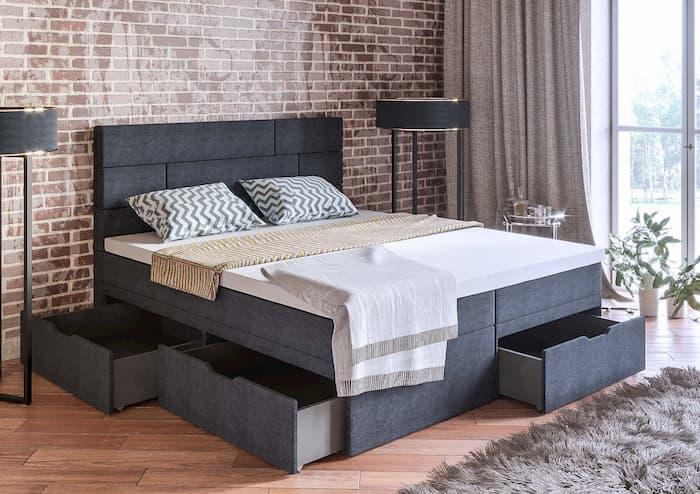 Кровати с ящиками: их особенности и виды