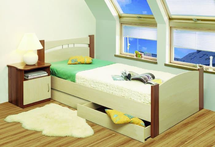 Кровати с ящиками в детской