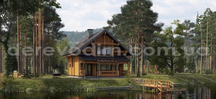 Дома из дерева: преимущества и особенности