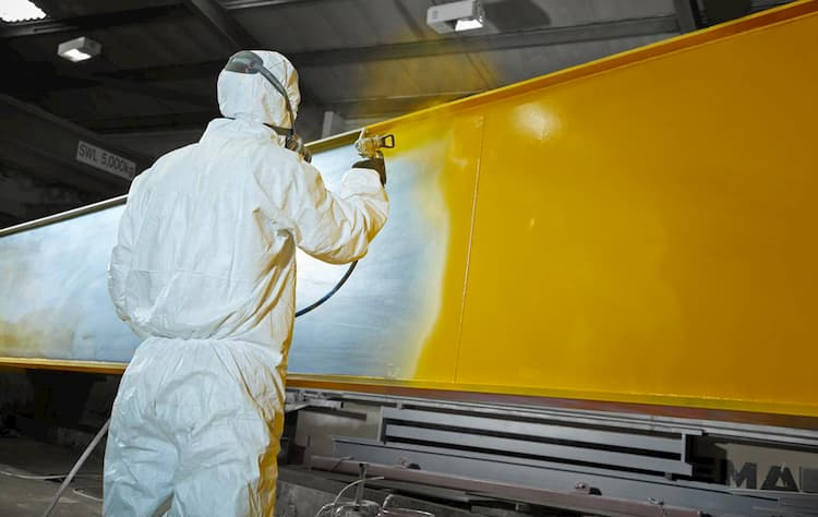 Покраска металлоконструкций – выбор лакокрасочных изделий