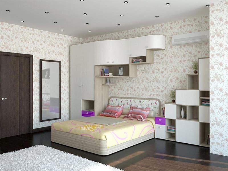 Преимущества заказа мебели для спальни по индивидуальному проекту