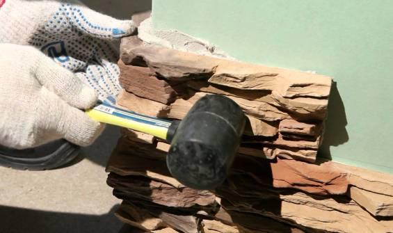 Як правильно виконувати роботи з облицювання декоративними кам'яними плитками