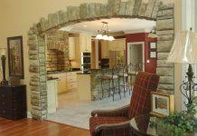 Використання декоративного каменю для обробки арок