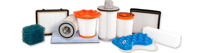 Разновидности фильтров для пылесосов