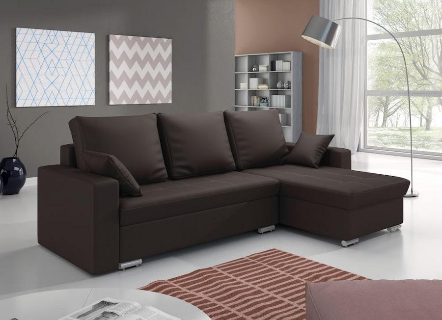 Разновидности угловых диванов